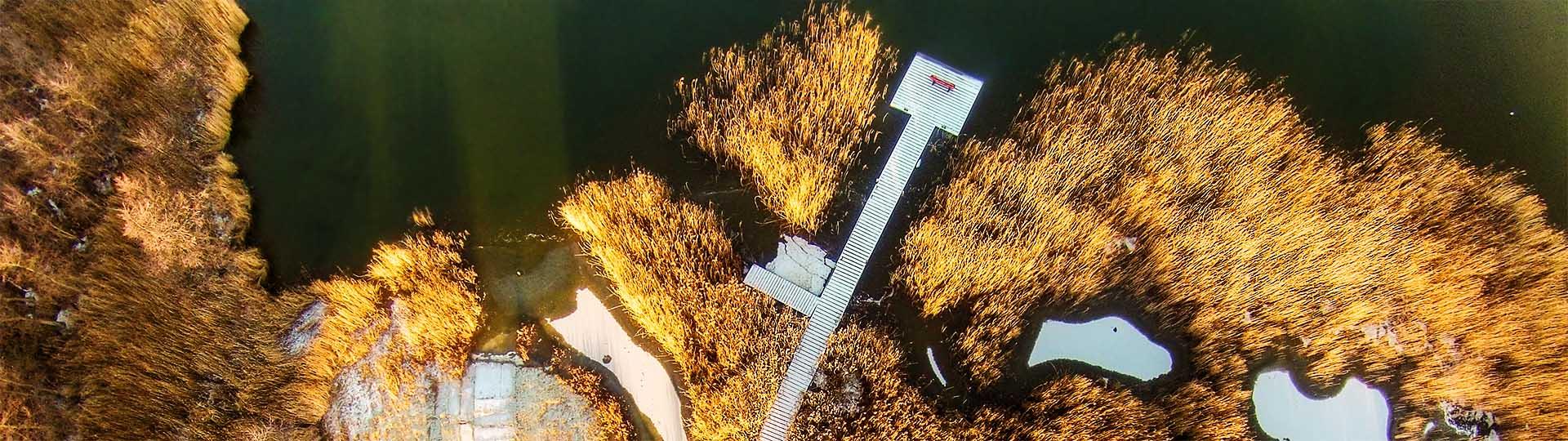 Luftaufnahme Rügen Buschvitz